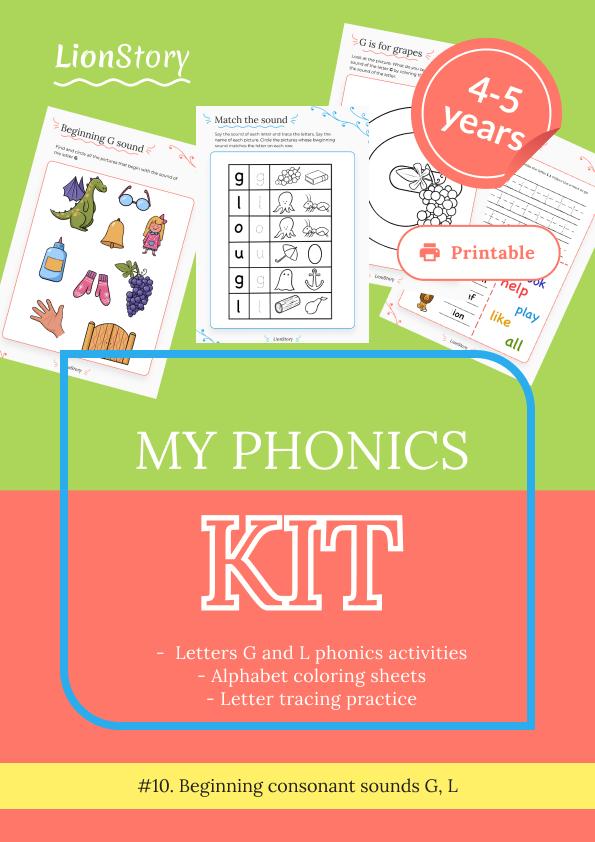 My Phonics Kit 10