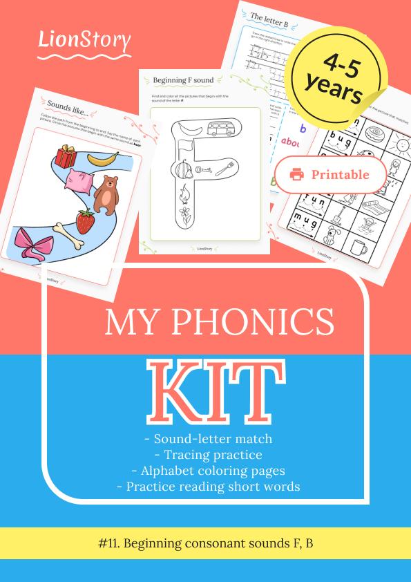 My Phonics Kit 11