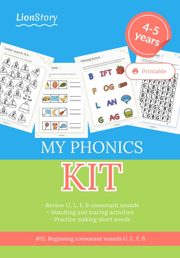 My Phonics Kit 12