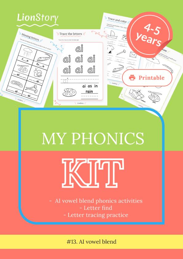 My Phonics Kit 13