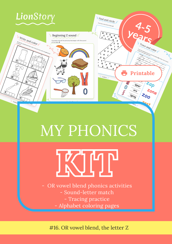 My Phonics Kit 16