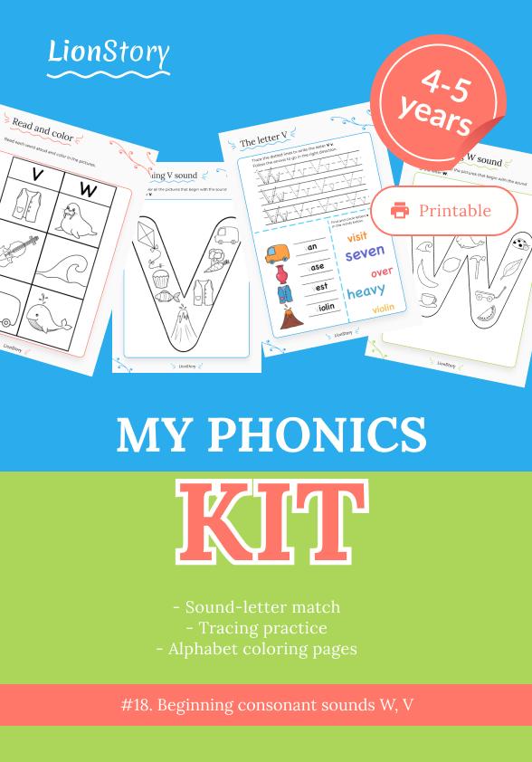 My Phonics Kit 18