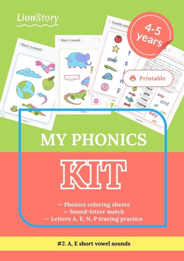 My Phonics Kit 2