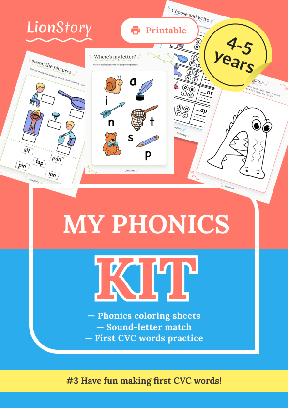 My Phonics Kit 3