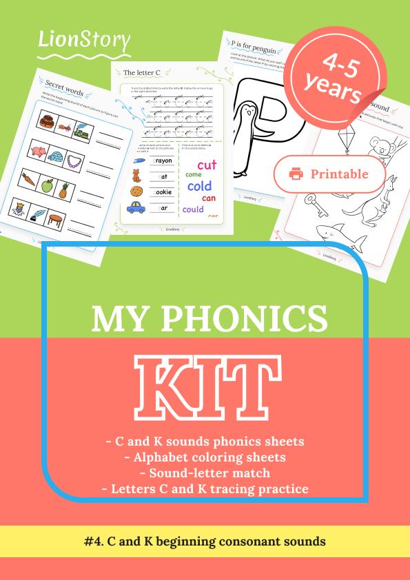 My Phonics Kit 4