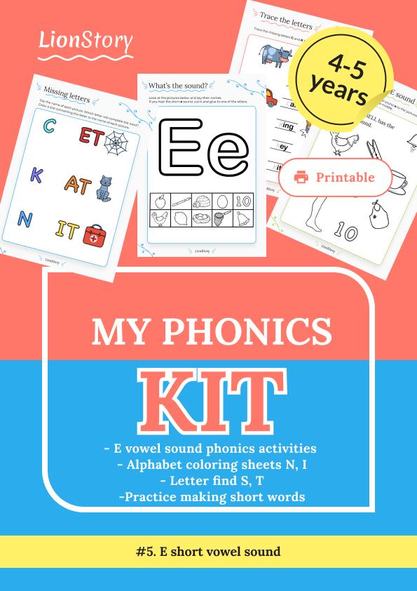 My Phonics Kit 5