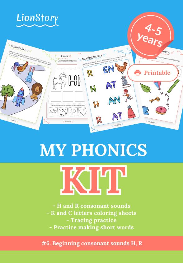 My Phonics Kit 6