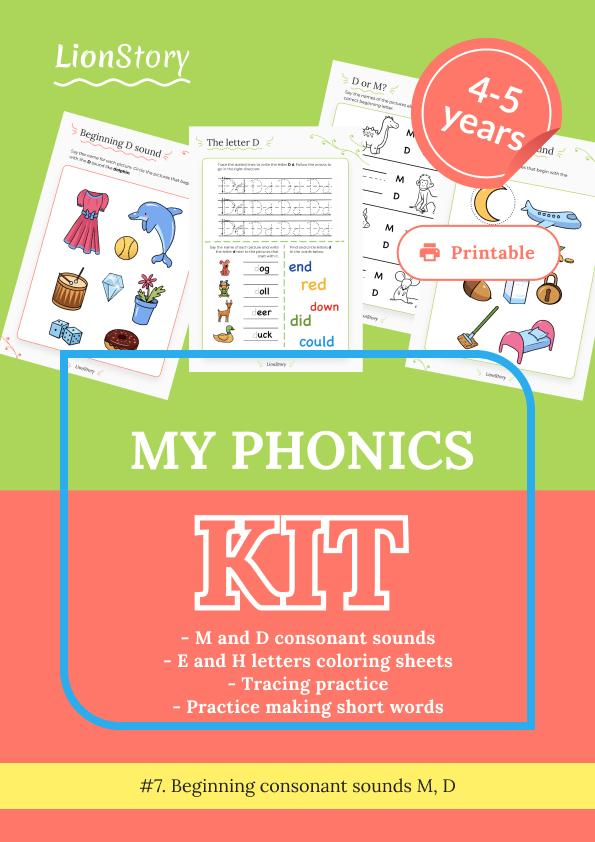 My Phonics Kit 7