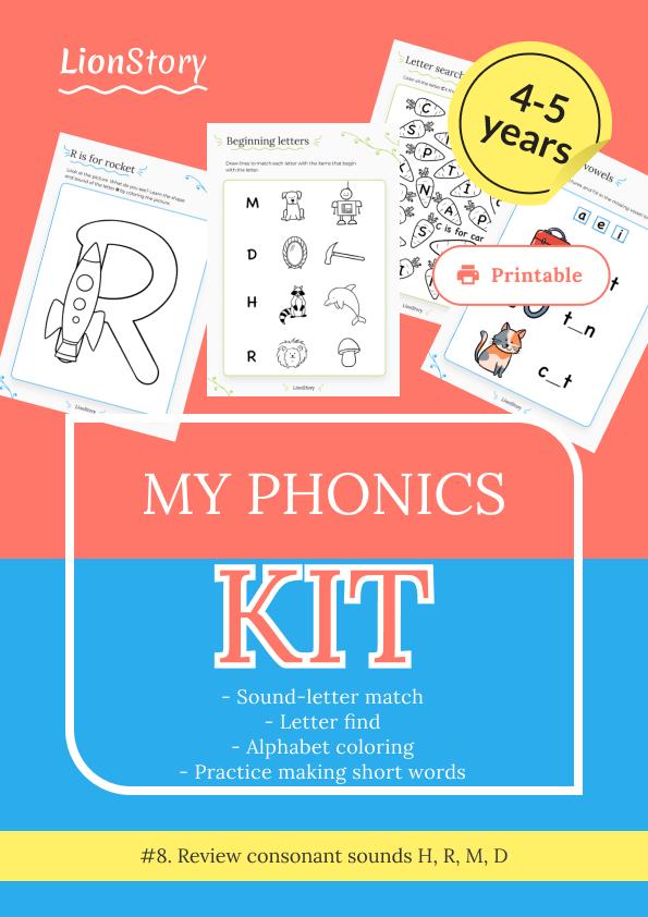 My Phonics Kit 8