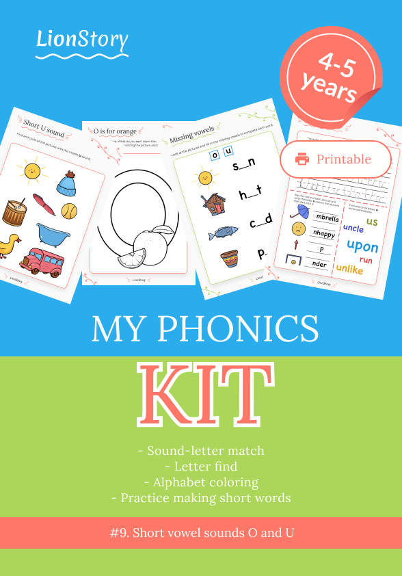 My Phonics Kit 9